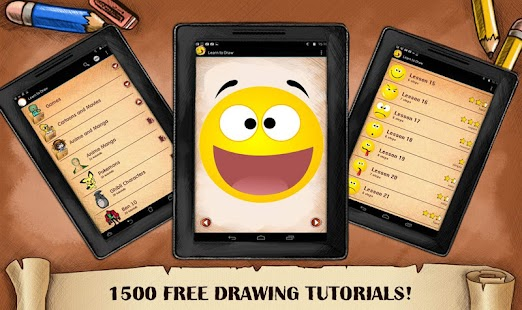 Drawing Emoji Faces and Smiles - náhled