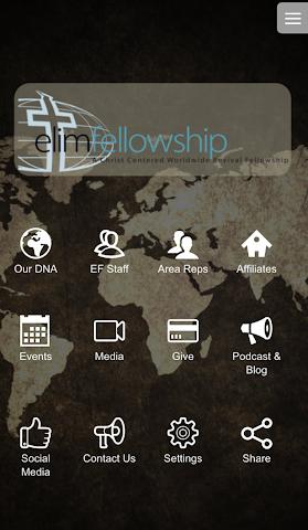 android Elim Fellowship Screenshot 0