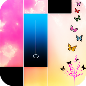 Piano music : pink magic tiles 1.0 Icon