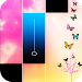Piano music : pink magic tiles Icon
