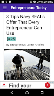 Entrepreneurs Daily News FREE- screenshot thumbnail