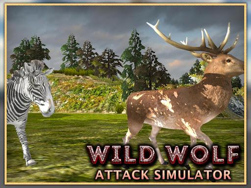 玩免費模擬APP|下載Wild Wolf Attack Simulator 3D app不用錢|硬是要APP