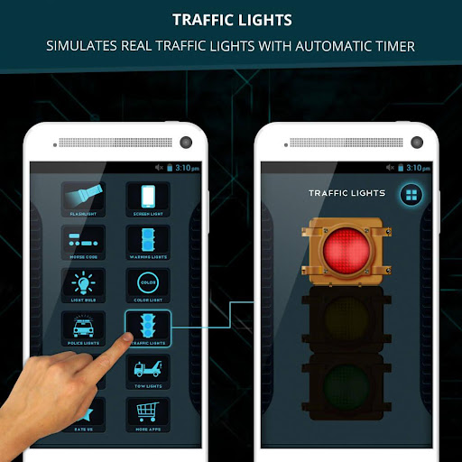 Battery Monitoring App User Interface : Download led flashlight police sirens for pc