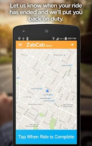 ZabCab Driver - For Taxi Cabs screenshot 3