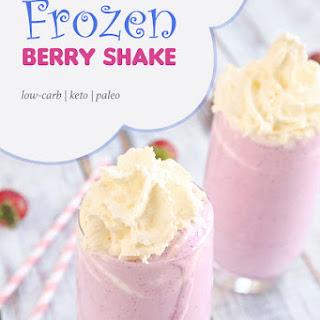 Frozen Keto Berry Shake Recipe