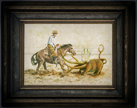 Photo: Ropin' Cowboys 5 x 4