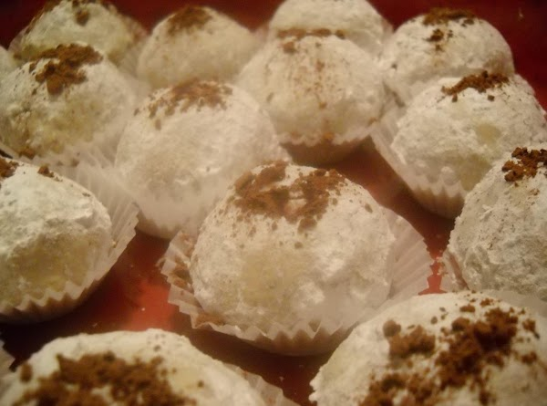 Spiced Rum Pecan Cookie Balls Recipe