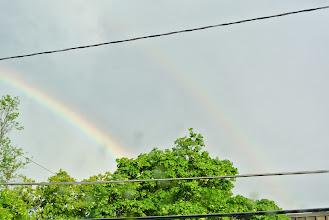 Photo: Double rainbow!!