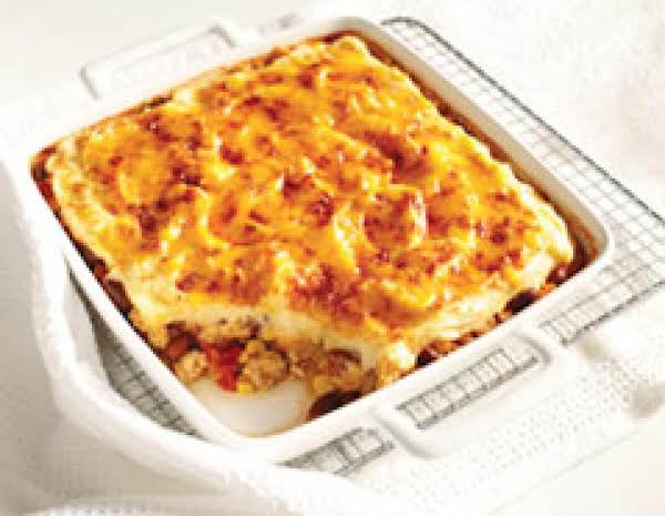 Chili Cheese Shepherds Pie