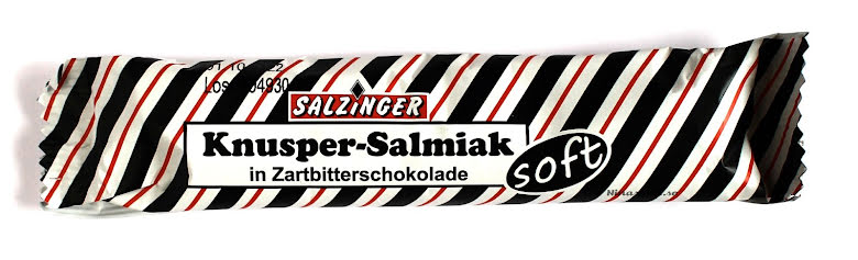 Knusper salmiak med mörkchoklad – Salzinger