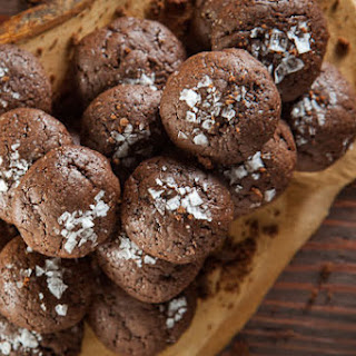 Salted Chocolate Double Rye Cookies.