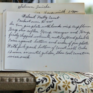 Walnut Pastry Crust