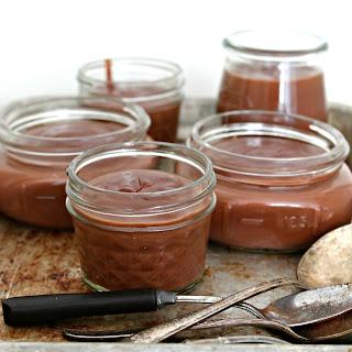 Red Wine & Dark Chocolate Pudding