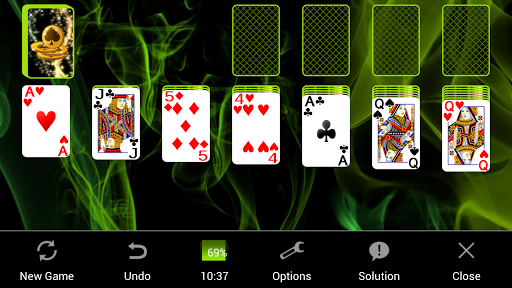 Solitaire painmod.com screenshots 4