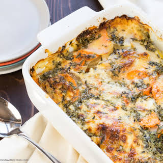 Herby Au Gratin Potatoes.