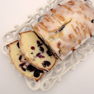 Blueberry-Lemon Pound Cake