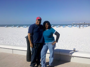 Photo: Mommy & Ron at the beach - Christmas Day 2010
