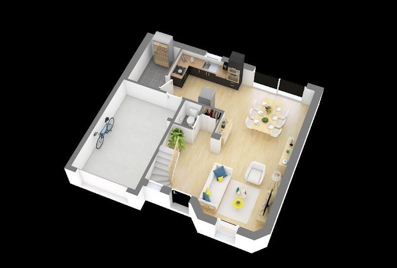Vente Terrain + Maison - Terrain : 1177m² - Maison : 80m² à Chevannes (45210)