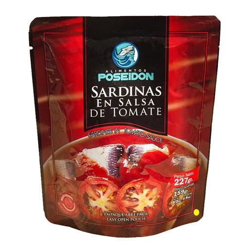 sardinas poseidon salsa de tomate 227gr