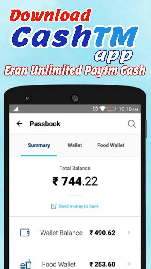 CashTm - Best Free Paytm Cash Earning App- screenshot