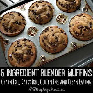 5 Ingredient Blender Muffins.