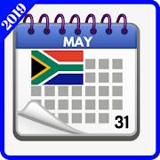 South African Calendar 2019