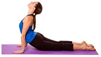 Urdhva Mukha Svanasana - Upward Facing Dog Pose - Yogaasan