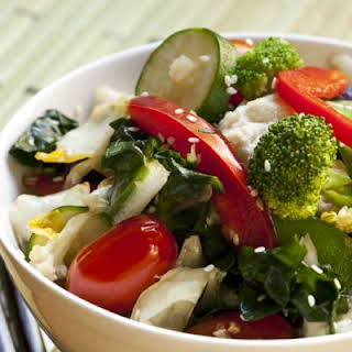 Chinese Cabbage Salad.