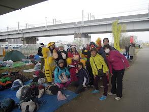 Photo: 応援団一同、 ポケモンのキャサりん、白熊のオオゴショ、サンタのみぃな、トナカイのレレ、にっしー、ハブラシさん、おいちゃん、アミちゃん、