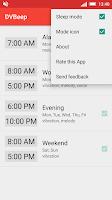 Screenshot of Speaking clock DVBeep Light