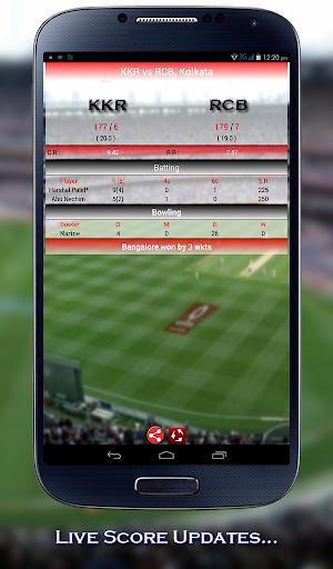 Live Cricket Score IPL 2015