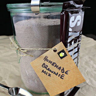 How to Make your Own Brownie Mix.