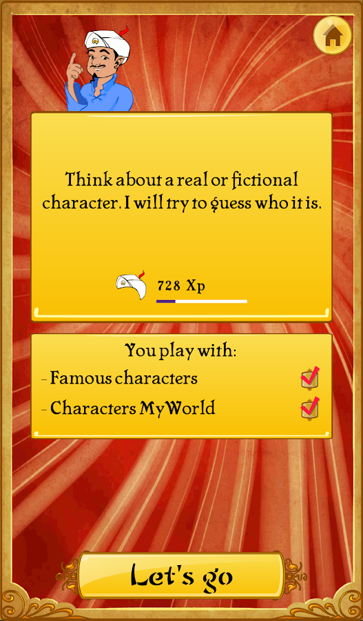 Akinator the Genie- screenshot