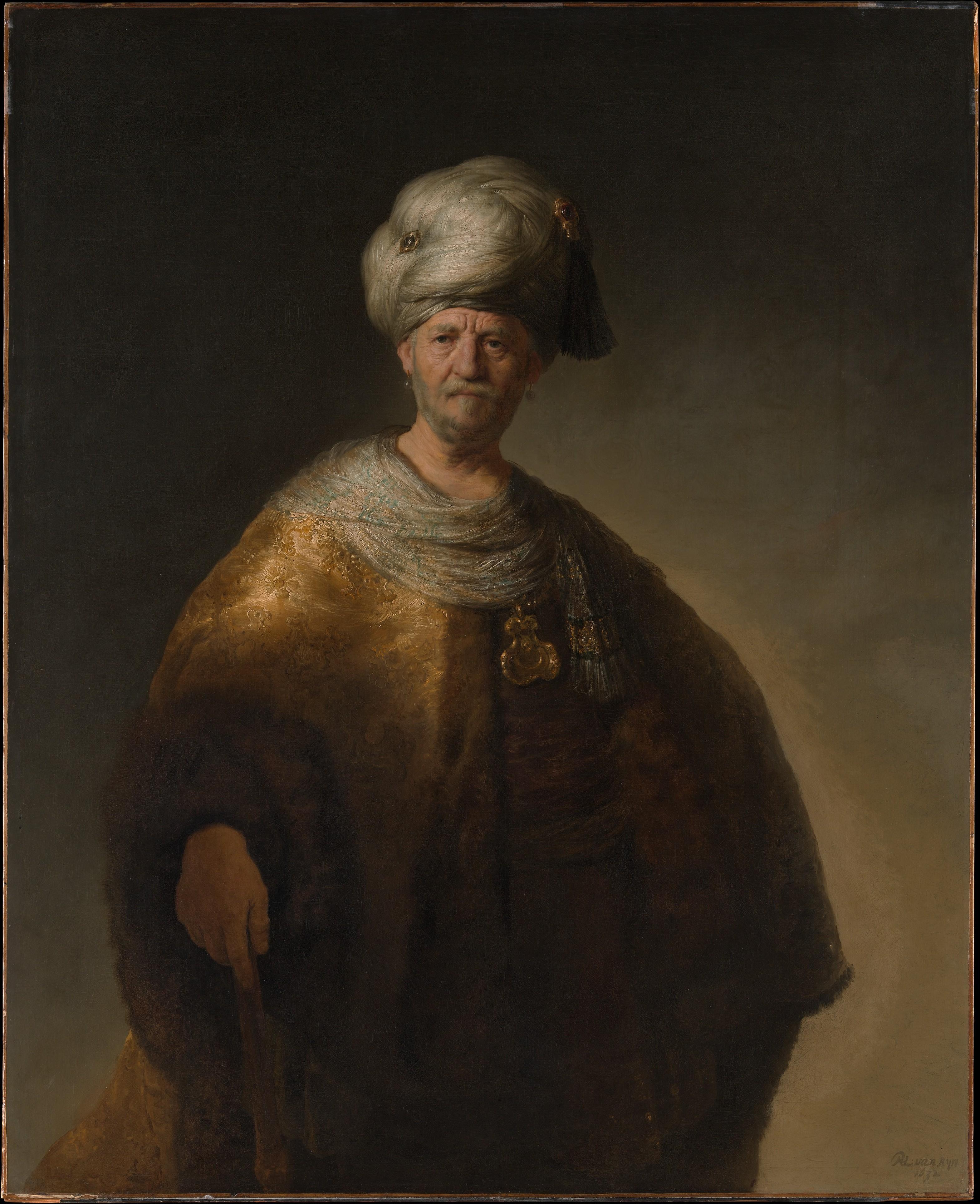 MAN IN ORIENTAL COSTUME ('THE NOBLE SLAV')