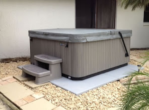 Photo: What an awesome product!  It was easy and quick to assemble and place.  The spa installer was so impressed with the product he is going to recommend his company begin including it with their spas!  I highly recommend this product.    Thank you!   Allison E.,Winter Springs, FL