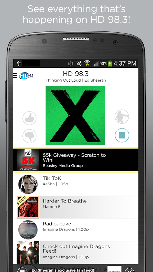 HD 98.3- screenshot