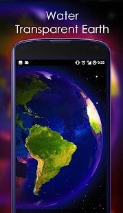 Earth 3D Live Wallpaper - náhled
