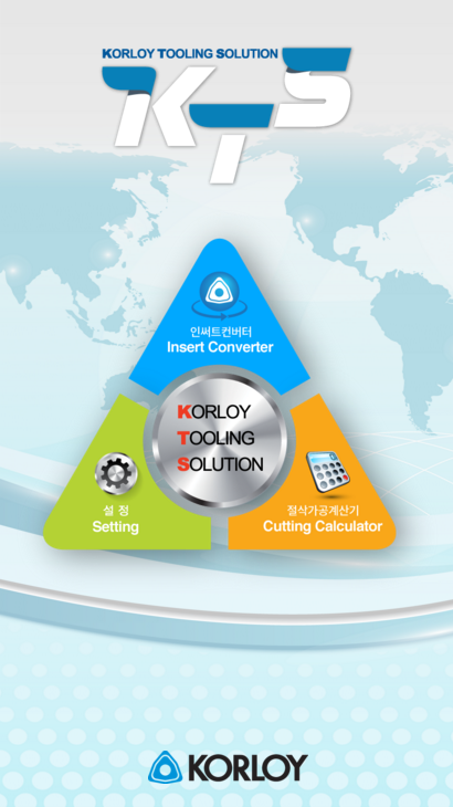 KTS - Korloy Tooling Solution- screenshot