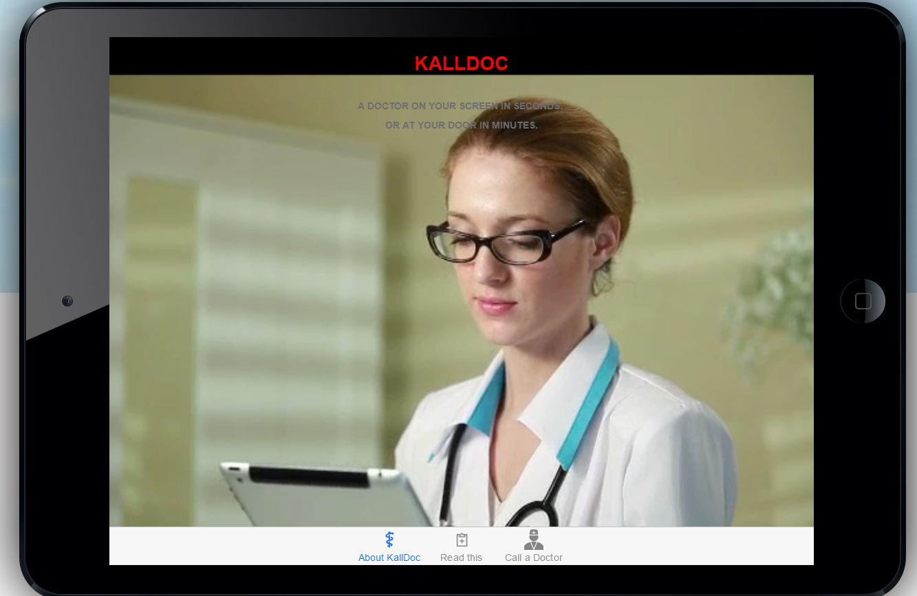 KallDoc. A doctor in seconds.- screenshot