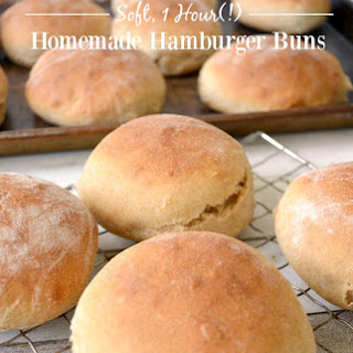 Quick and Tender Hamburger Buns {or Breadsticks}
