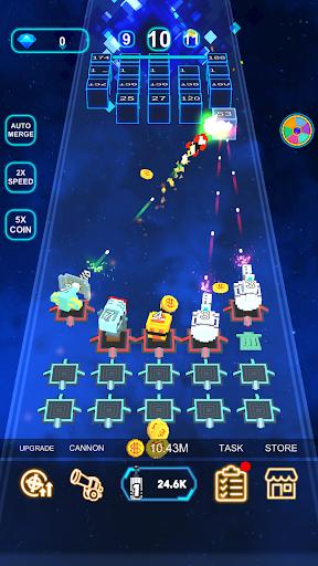Cannon Defense-SciFi Idle apkmr screenshots 4