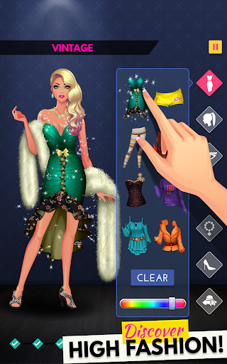 Fashion Diva: Dressup & Makeup screenshot 1