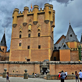 Segovia Castle by Francis Xavier Camilleri - Buildings & Architecture Public & Historical