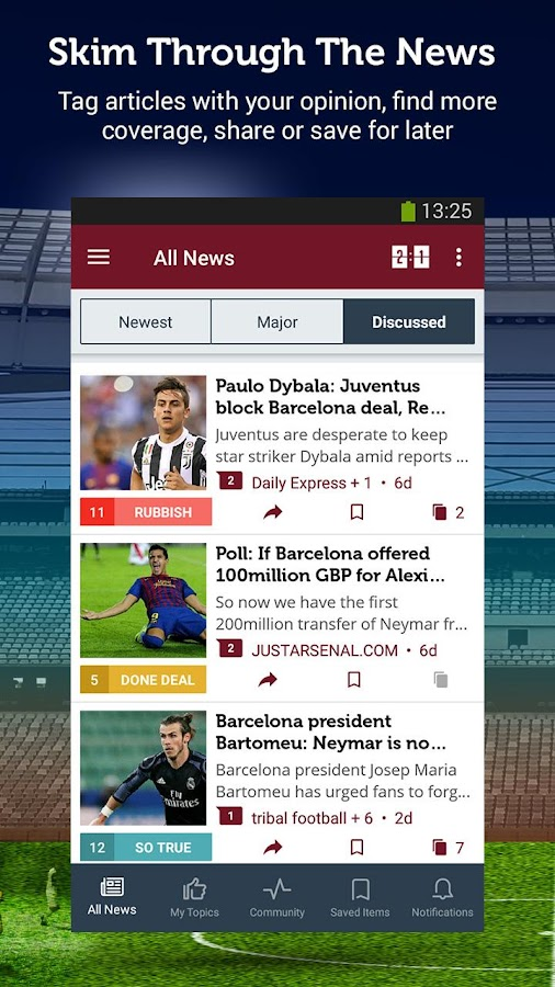 Barcelona News - Sportfusion- screenshot