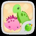 Dinosaurs GO Keyboard Theme icon