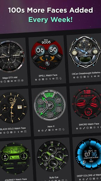 WatchMaker Watch Face Screenshot Image