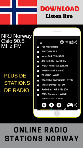 NRJ Radio Norge Oslo 90 5 MHz FM Free Online App Report on Mobile