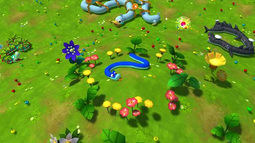 Snake Rivals - New Snake Games in 3D apktram screenshots 1