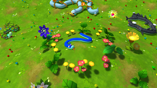 Snake Rivals – New Snake Games in 3D 1