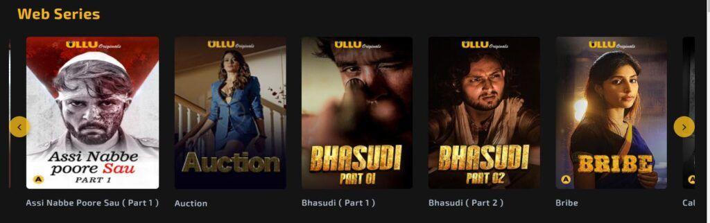 ULLU TV Shows